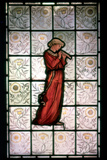 Stained Glass, Minstrel, 1882-1884 Photographic Print by William Morris