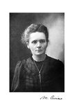 Marie Curie, Polish-Born French Physicist, 1917 Giclee Print