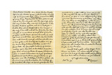 Letter from William Cowper to William Unwin, 31st October 1779 Giclee Print by William Cowper