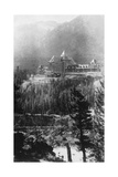 Banff Springs Hotel, from Tunnel Mountain, Banff National Park, Alberta, Canada, C1930S Giclee Print by Marjorie Bullock