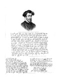 Portrait of Thomas Howard, 4th Duke of Norfolk, 1572 Giclee Print