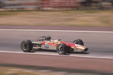 Graham Hill's Lotus at Speed, Spanish Grand Prix, Jarama, Madrid, 1968 Photographic Print