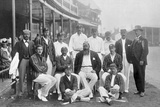 The England Test Cricket XI at Nottingham, Nottinghamshire, 1899 Photographic Print by WA Rouch