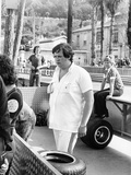 Lord Alexander Hesketh at the Monaco Grand Prix, 1973 Photographic Print