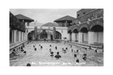 Government Bath, Banff, Alberta, Canada, C1930S Giclee Print by Marjorie Bullock