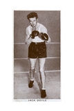 Jack Doyle, Irish Boxer, 1938 Giclee Print