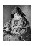 Armenian Patriarch, Leader of the Oldest National Christian Church, 1922 Giclee Print