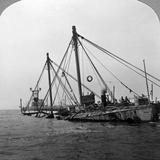 Sunken Warship HMS 'Vindictive, Ostend, Belgium, World War I, 1918 Photographic Print