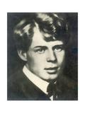 Sergei Yesenin, Russian Poet, 1910S Giclee Print