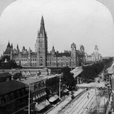 Houses of Parliament, Ottawa, Ontario, Canada Photographic Print