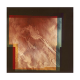 Part of the Grand Canyon, Marineris Vallis, on Mars, 1976 Giclee Print