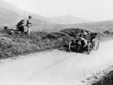 Charles Rolls on the Way to Winning the Isle of Man Tt Race in a 20 Hp Rolls-Royce, 1906 Photographic Print