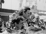 Graham Hill, Denny Hulme and Brian Redman, Spanish Grand Prix, 1968 Photographic Print