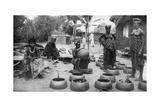 Fanti Women Making Earthenware, Elmina, Ghana, 1922 Giclee Print by PA McCann