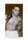 John Henry Lewis, American Boxer, 1938 Giclee Print