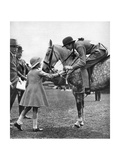 Princess Elizabeth at Children's Day, Richmond Horse Show, C1936 Giclee Print
