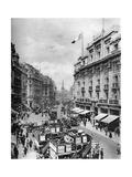 Regent Street, London, 1926-1927 Giclee Print by  McLeish