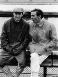 Jackie Stewart on the Left, and Jim Clark, 1967 Photographic Print