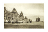 The Upper Trading Rows in Red Square, Moscow, Russia, 1910S Giclee Print