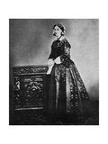 Florence Nightingale, English Nurse and Hospital Reformer, 1855 Giclee Print