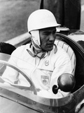 Stirling Moss at Goodwood, 1954 Photographic Print