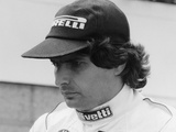 Nelson Piquet at the British Grand Prix, Silverstone, 1985 Photographic Print