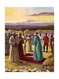 The Samaritan Passover Giclee Print