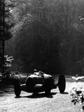 Bernd Rosemeyer Driving an Auto Union, Donington Grand Prix, 1937 Photographic Print