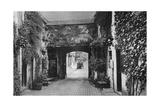 Courtyard of the Saracen's Head Inn, Southwell, Nottinghamshire, 1924-1926 Giclee Print