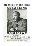 Homage to Martin Luther King, 1968 Giclée-tryk