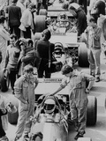 Starting Grid, British Grand Prix, Silverstone, Northamptonshire, 1971 Photographic Print