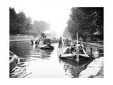 Boats on Regent's Canal, London, C1905 Photographic Print