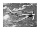 Prototype Hawker Hurricane Being Test Flown by Flight Lieutenant Pws Bulman, C1935 Giclee Print