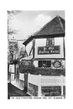 Ye Old Fighting Cocks Inn, St Albans, Hertfordshire, 1937 Giclee Print