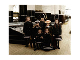 The Family of Tsar Nicholas II of Russia, C1906-C1907 Giclee Print