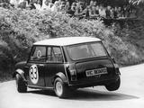 Mini Cooper S, Wiscombe Hill Climb, Honiton, Devon, 1975 Photographic Print