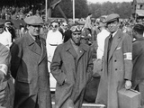 Tazio Nuvolari, Donington Grand Prix, 1938 Photographic Print