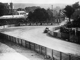 An Austin 100Hp Car Taking a Bend, French Grand Prix, Dieppe, 1908 Photographic Print