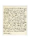 Letter from Thomas Gainsborough to Lord Hardwicke, C1760-1770 Giclee Print by Thomas Gainsborough