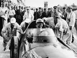 Stirling Moss in a Vanwall, Italian Grand Prix, Monza, 1957 Fotografie-Druck