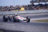 John Surtees Driving a Honda, Spanish Grand Prix, Jarama, 1968 Photographic Print