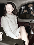 Christine Keeler Arriving at the Old Bailey, London, 1963 Photographic Print