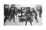The Assassination of Alexander I, King of Yugoslavia, Marseilles, France, 9 October 1934 Giclee Print