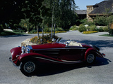 A 1936 Mercedes Benz 500K Roadster Photographic Print