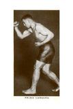 Primo Carnera, Italian Boxer, 1938 Reproduction procédé giclée