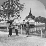 Main Entrance to Fort Dufferin and the Royal Palace, Mandalay, Burma, 1908 Photographic Print