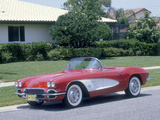 1961 Chevrolet Corvette Photographic Print