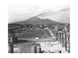 Forum, Pompeii, Italy, Late 19th or Early 20th Century Giclee Print