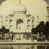 Taj Mahal, Agra, Uttar Pradesh, India Photographic Print by  Underwood & Underwood