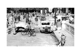 Burned Out Cars, Place De La Concorde, Liberation of Paris, August 1944 Giclee Print